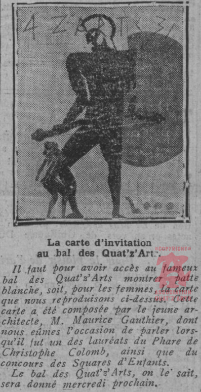 Article journal Comoedia 7 juin 1931
